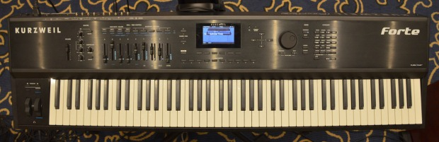 Kurzweil FORTE stage piano caly top