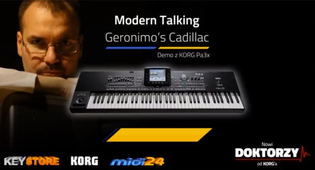 Doktorzy Korg MIDI24.pl Korg Pa3X